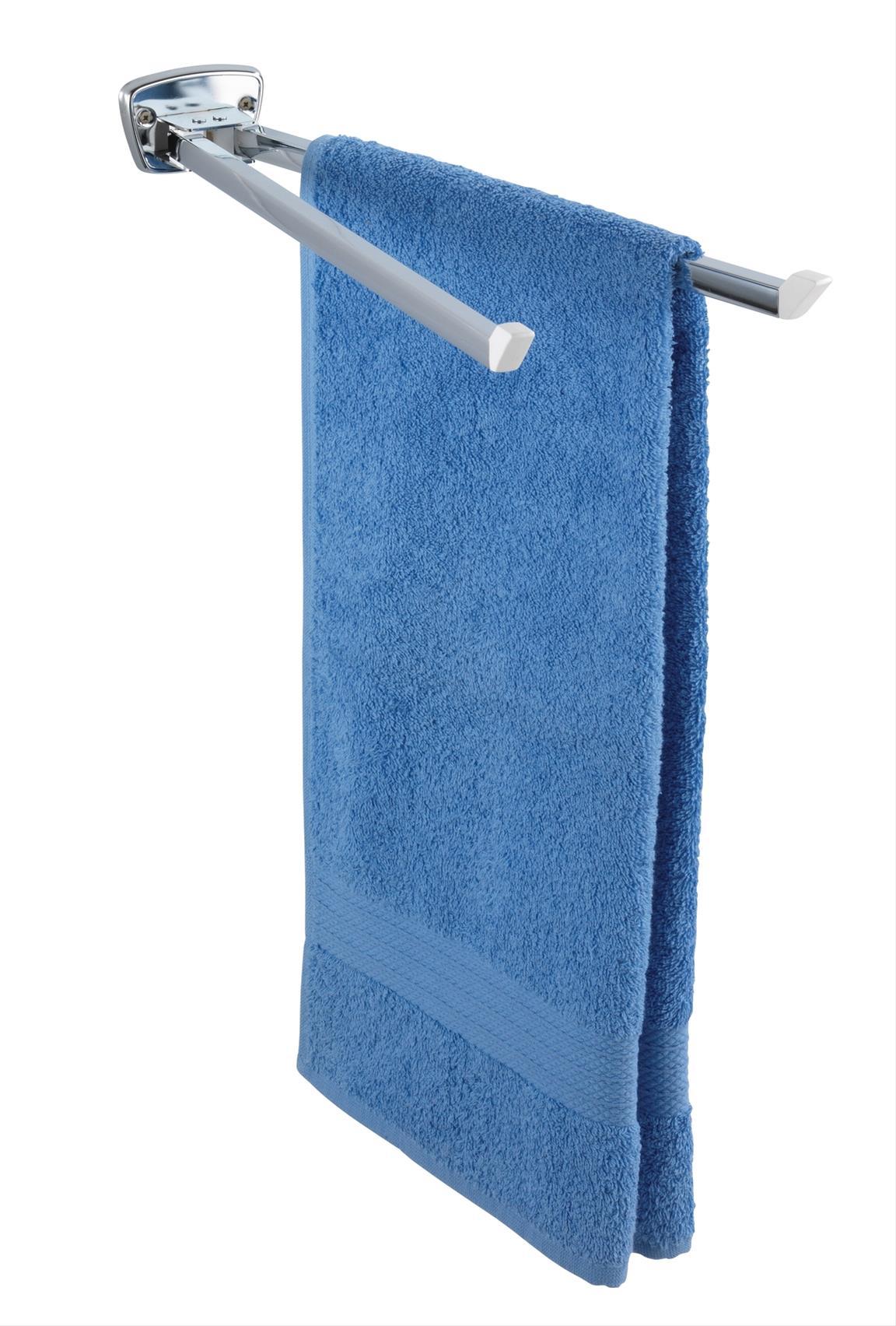 Handtuchhalter mit 2 Armen Basic Bild 1