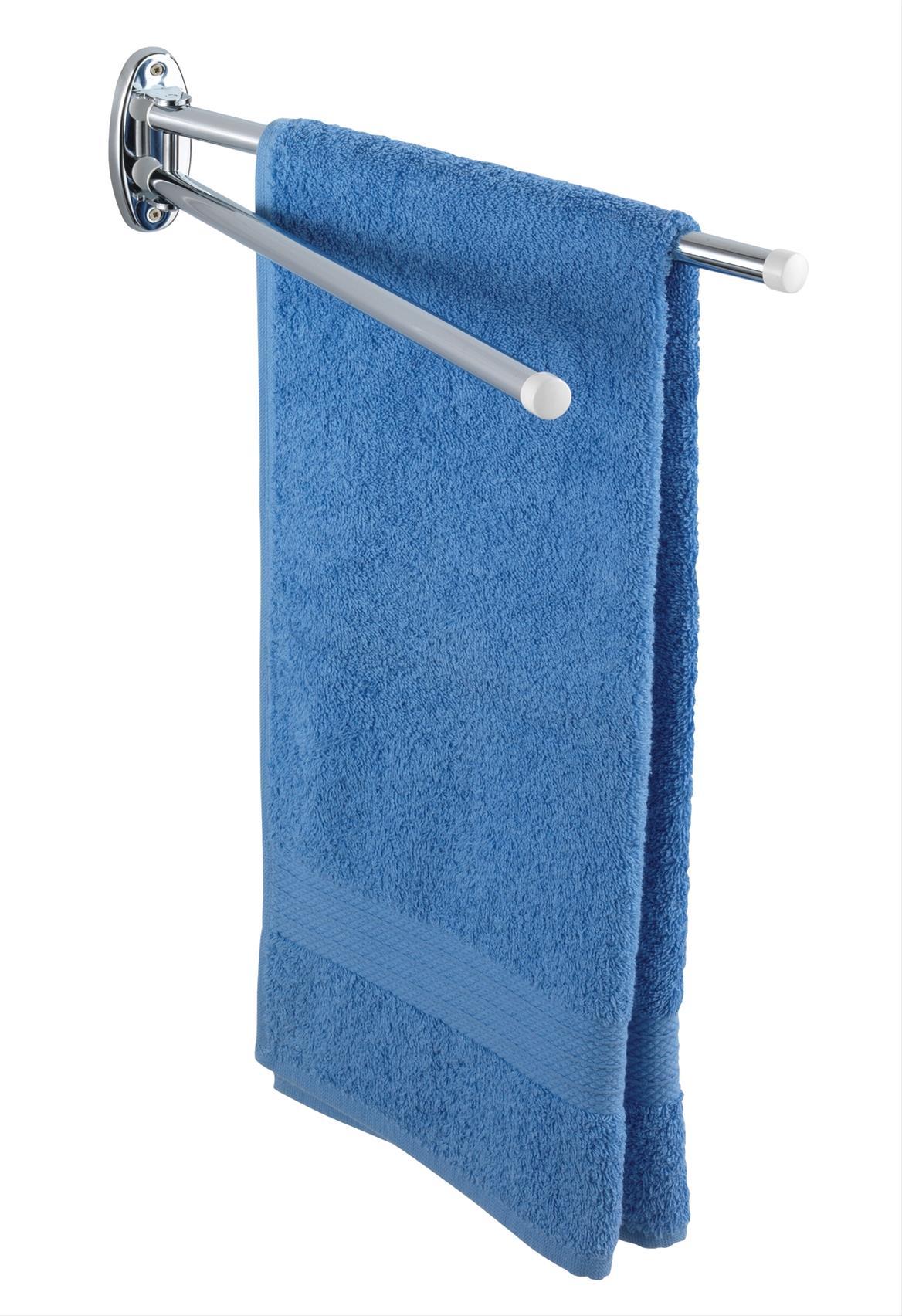 Handtuchhalter mit 2 runden Armen Basic Bild 1