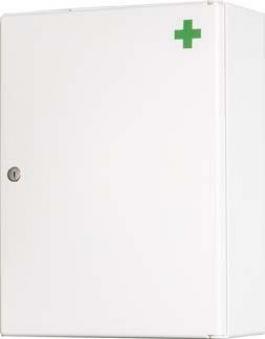Medikamentenschrank 1-tü,weiß,B31,5xH42xT15cm Bild 1