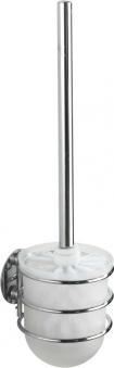 WC-Garnitur Turbo-Loc Chrom, 10x11,5x37,5 cm Bild 1