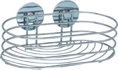 Wandablage Turbo-Loc Chrom, 23,5x13,5x10,5 cm Bild 1