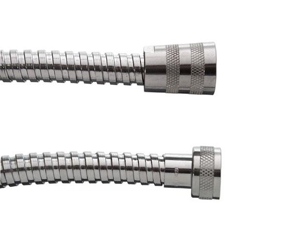 Cornat Brauseschlauch Metall TECB3361 chrom Länge 200cm Bild 1