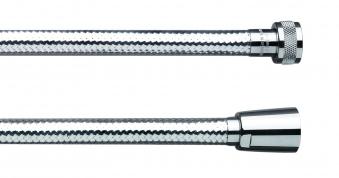 Cornat Sicherheits-Brauseschlauch Kunststoff chrom Länge 150cm Bild 1