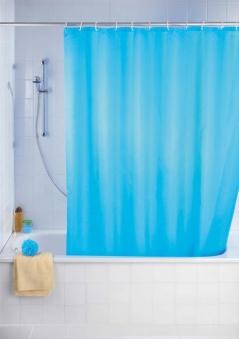 Duschvorhang 180x200 light blue antis. Bild 1