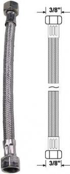 """Anschlussrohr flexibel 3/8"""" x 3/8"""" Länge 20cm Bild 1"""