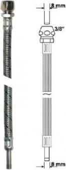 """Anschlussrohr flexibel 3/8"""" x 8mm Länge 30cm Bild 1"""