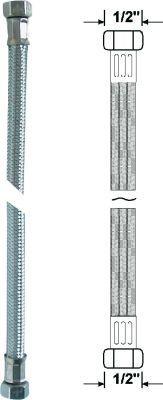 """Armaturenschlauch flexibel 50cm 1/2"""" x 1/2"""" Bild 1"""