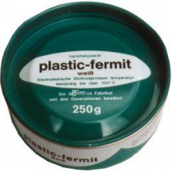 dichtungsmasse plastic fermit wei 250g bild 1. Black Bedroom Furniture Sets. Home Design Ideas