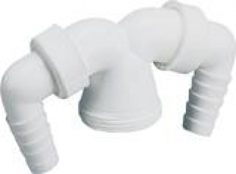 Doppelanschlusskopf für Abwasserschlauchanschlüsse Bild 1