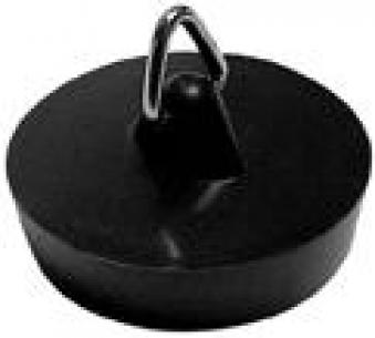 Gummi Ventilstopfen für Waschbecken und Spülen 48,5mm Bild 1