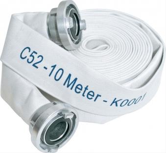 Karasto Bauflachschlauch m. C-Kupplung, 52mm 10m Bild 1