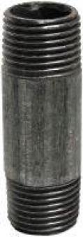"""Rohr beidseitige Gewinde 1/2"""" 15cm verzinkt Bild 1"""