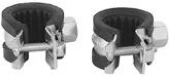 Rohrschelle M8 mit Dämmeinlage 17-19 Bild 1