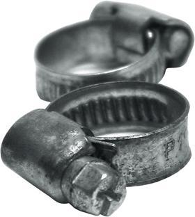 Schlauchklemme verzinkt 16-25mm 2 Stück Bild 1