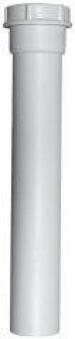 Verlängerung Rohr Kunststoff für Siphon Ø40x250mm Bild 1