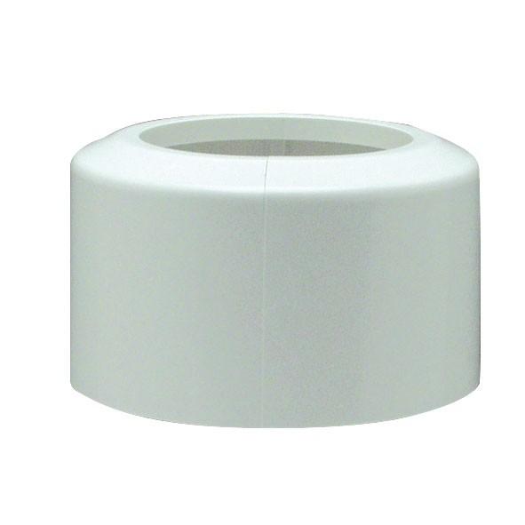 WC-Klapprosette Ø110mm Kunststoff weiss Bild 1