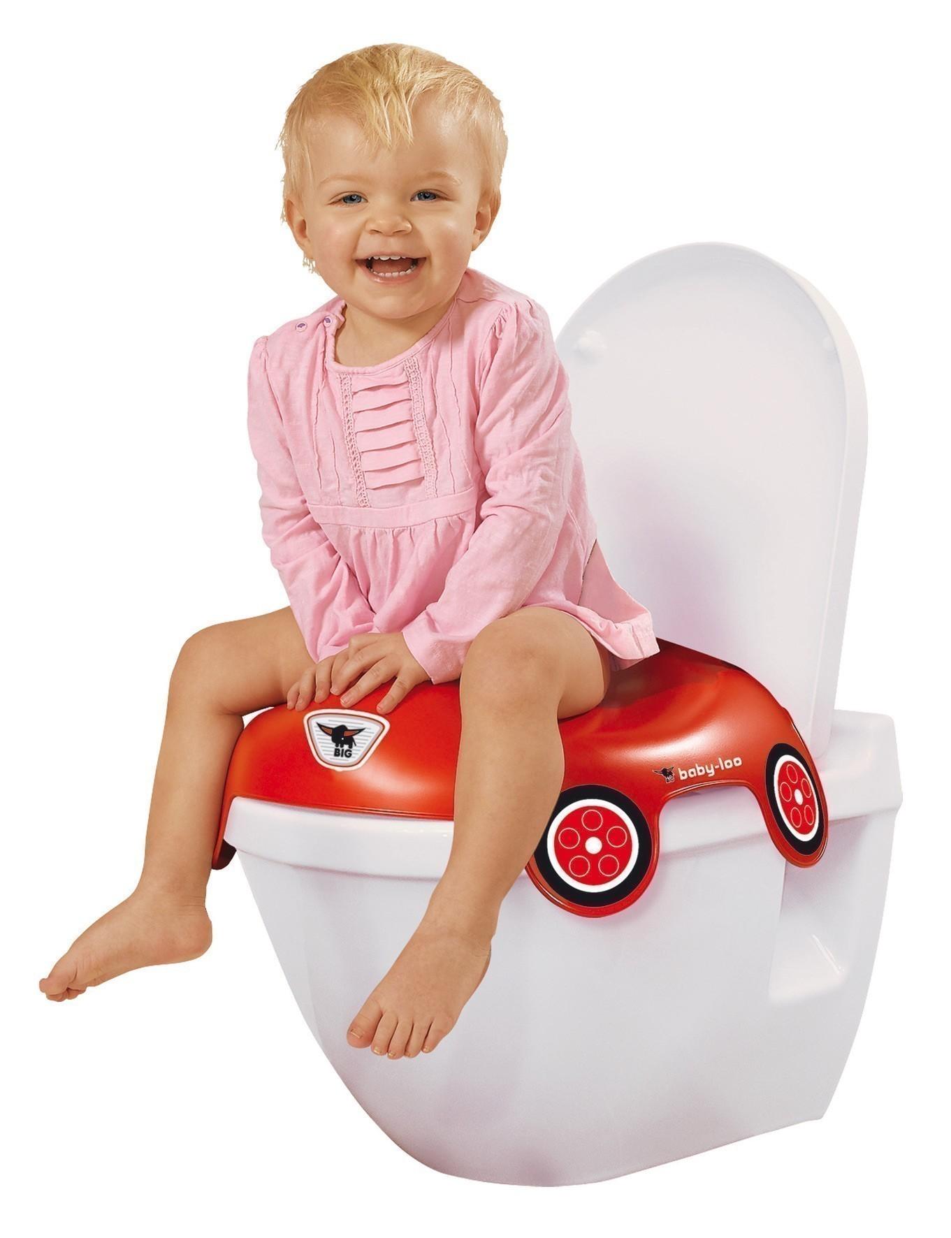 BIG Toilettensitz / Toilettentrainer Töpfchen Baby Loo Bobby Car 56806 Bild 2