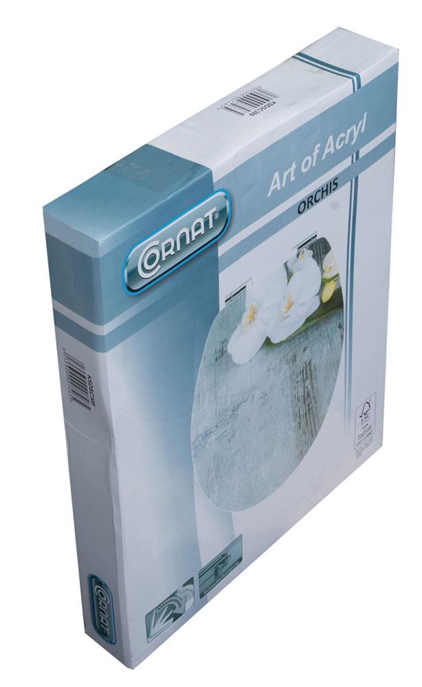 Cornat WC-Sitz / Toilettendeckel Absenkautomatik Art of Acryl Orchis Bild 4