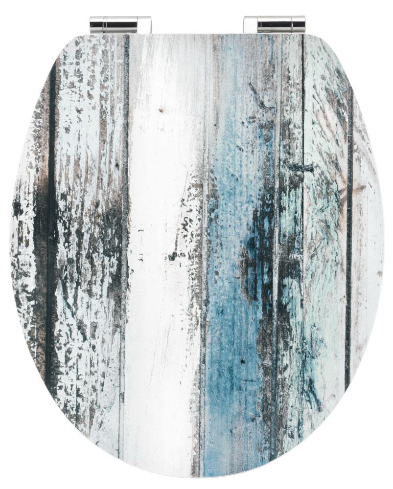 Cornat WC-Sitz / Toilettendeckel Absenkautomatik Art of Acryl Wooden Bild 1