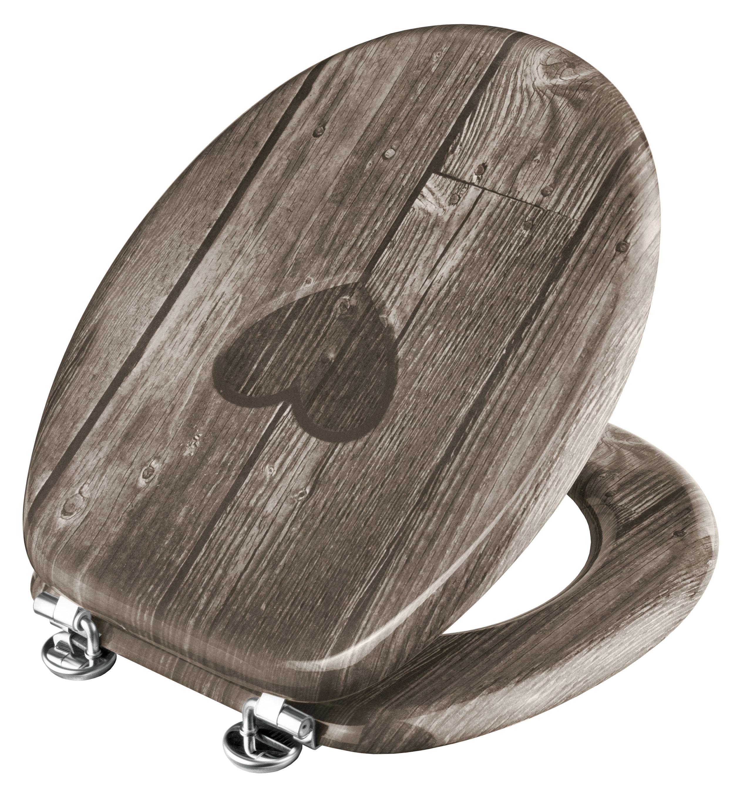 Cornat WC-Sitz / Toilettendeckel Dekor Herz Bild 1
