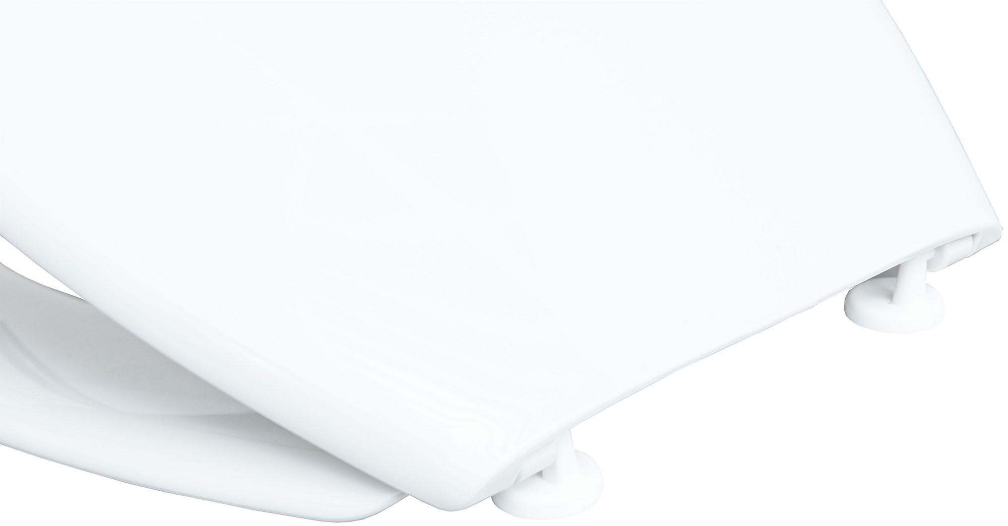 Cornat WC-Sitz / Toilettendeckel Palu Thermoplast weiß Bild 4