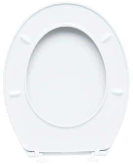 Cornat WC-Sitz / Toilettendeckel Palu Thermoplast weiß Bild 2