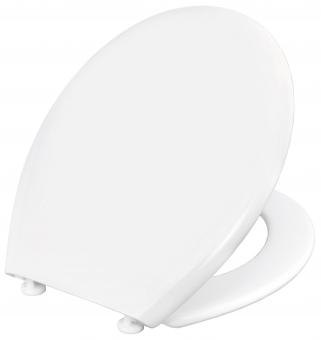 Cornat WC-Sitz / Toilettendeckel Palu Thermoplast weiß Bild 3