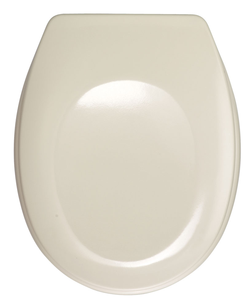 WC-Sitz Wenko Bergamo beige Duroplast Bild 1
