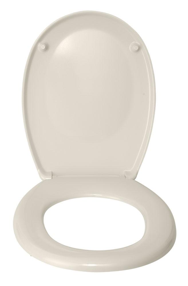 WC-Sitz Wenko Bergamo beige Duroplast Bild 2