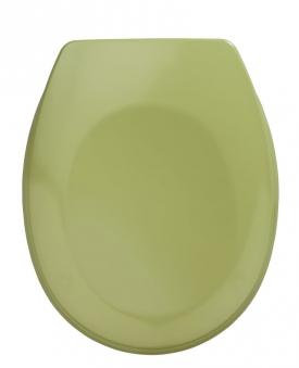 WC-Sitz Wenko Bergamo moosgrün Duroplast Bild 1
