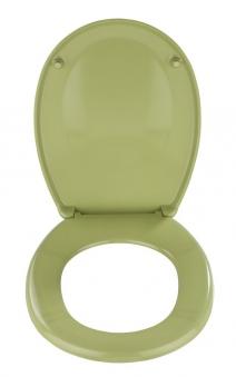 WC-Sitz Wenko Bergamo moosgrün Duroplast Bild 2