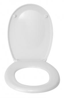 WC-Sitz Wenko Bergamo weiß Duroplast Bild 2