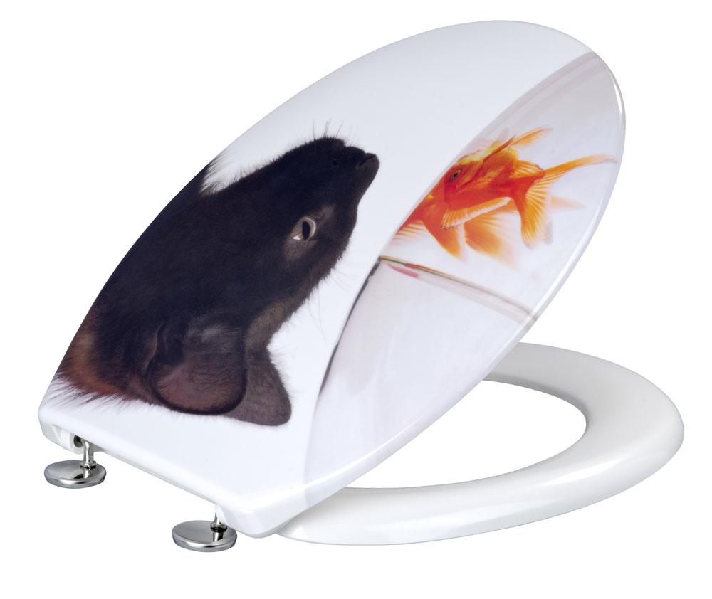 wc sitz wenko fish cat duroplast bei. Black Bedroom Furniture Sets. Home Design Ideas