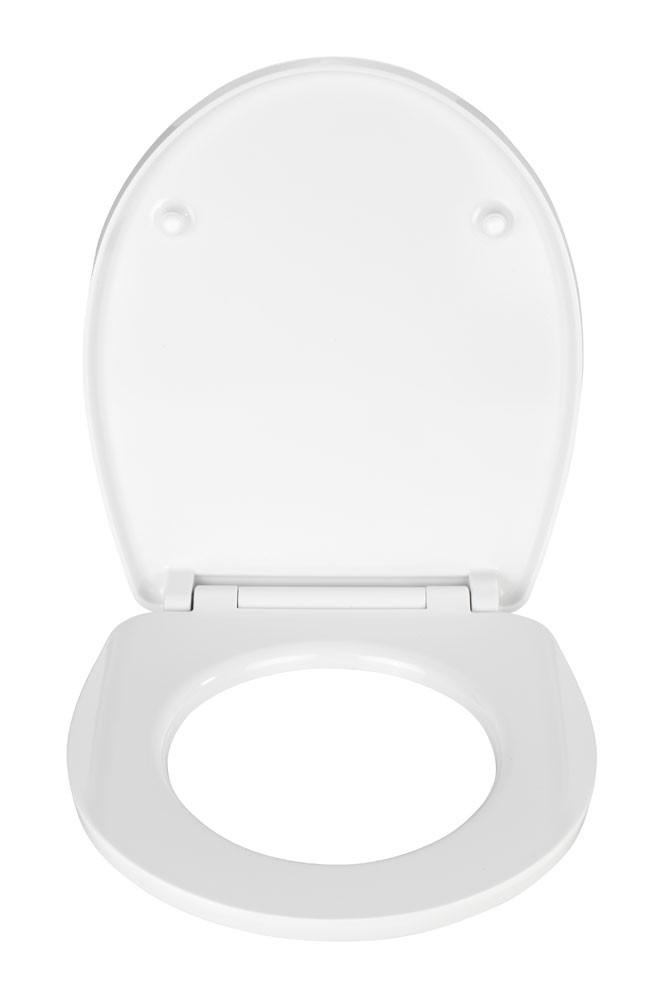 WC-Sitz Wenko Hochglanz Acryl Düne Duroplast mit Absenkautomatik Bild 2