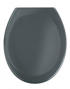WC-Sitz Wenko Premium Ottana dunkelgrau Duroplas mit Absenkautomatik Bild 1