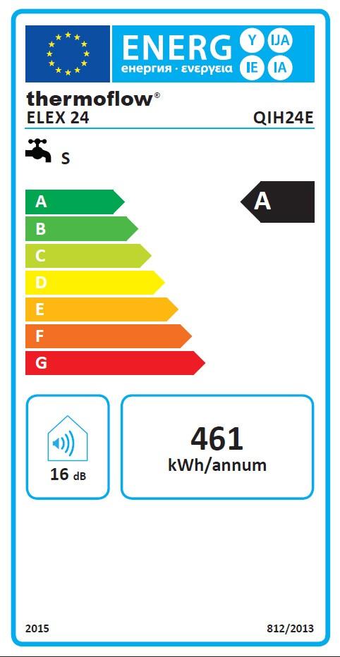 Durchlauferhitzer / Thermoflow Elex 24  24 kW elektronisch Bild 2
