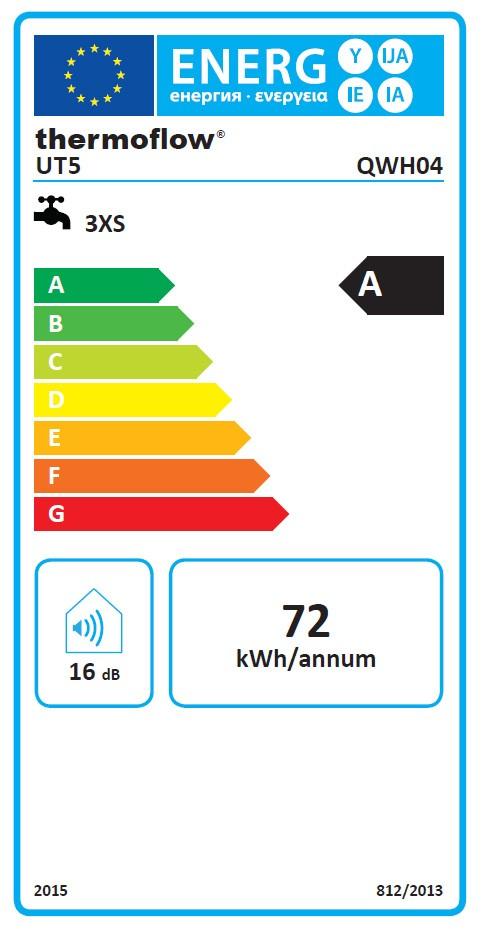 Wasser Boiler / Heißwassergerät / Untertisch Thermoflow UT5 5 L weiß Bild 2