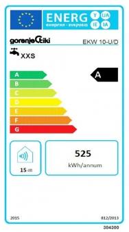 Wasser Boiler / Warmwasserbereiter Gorenje EKW10U 10L 2000 W weiß Bild 2