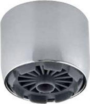 Strahlregler Chrom M24 x 1 Zoll Außengewinde Bild 1