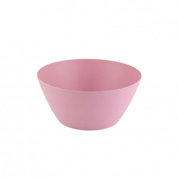 Schale / Müslischüssel S mit Bambusfaser axentia Ø14,5cm rosa Bild 1
