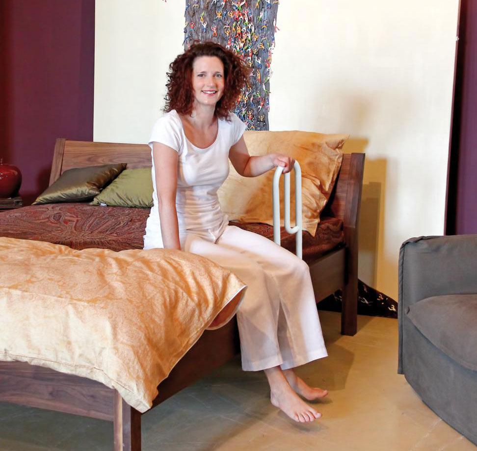 GAH Alberts Bett-Aufstehhilfe / Alltagshilfe Kunststoff weiß Bild 1