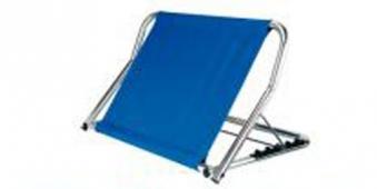 GAH Alberts Rückenstütze / Alltagshilfe 70x48x47cm blau/silber Bild 2