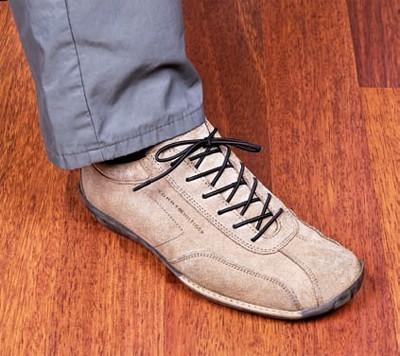 GAH Alberts Schnürsenkel elastisch / Alltagshilfe braun 1Paar Bild 1