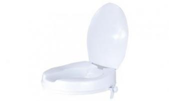 GAH Alberts Toilettensitzerhöhung / Alltagshilfe 37x40x10cm Kunststoff Bild 1