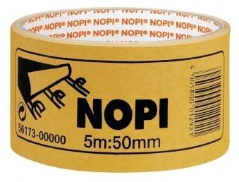 NOPI® Doppelseitiges Klebeband / Verlegeband 50 mm x 5 m Bild 1