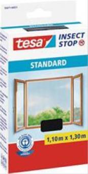 Tesa Fliegengitter weiß Standard 130 x 150 cm Bild 1