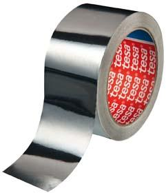 tesa® Alumiumband 25 m x 50 mm farblos Bild 1
