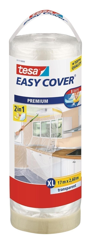 tesa® Easy Cover Premium Abdeckfolie 17 m x 2,60 m (Nachfüllrolle) Bild 1