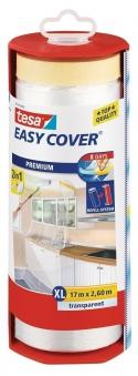tesa® Easy Cover Premium Abdeckfolie 17 m x 2,60 m (inkl. Abroller) Bild 1