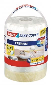 tesa® Easy Cover Premium Abdeckfolie 33 m x 55 cm (Nachfüllrolle) Bild 1